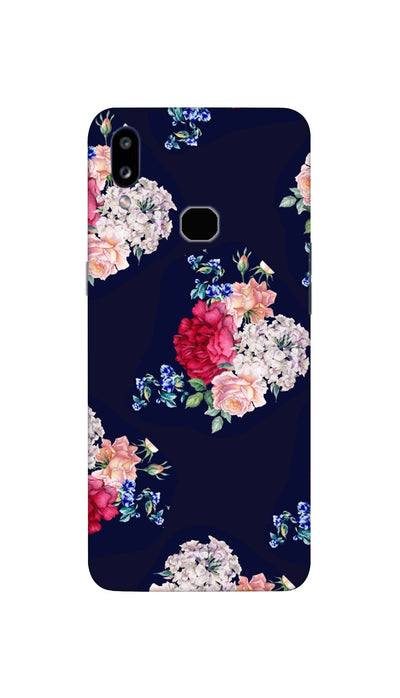 Flowers print Hard Case For Samsung A10S