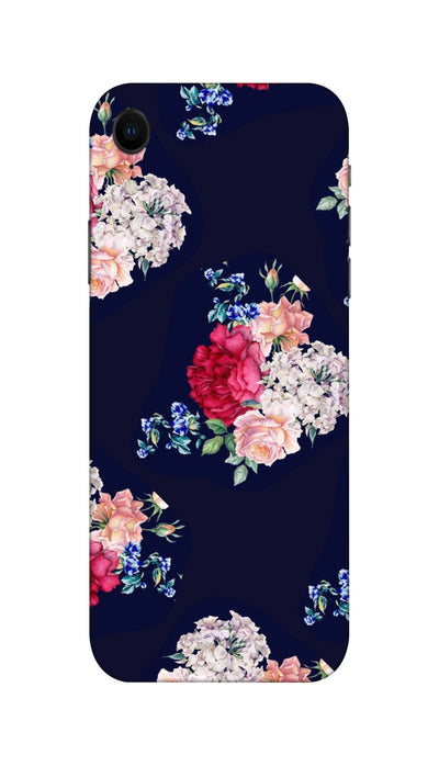 Flowers print Hard Case For Apple iPhone XR