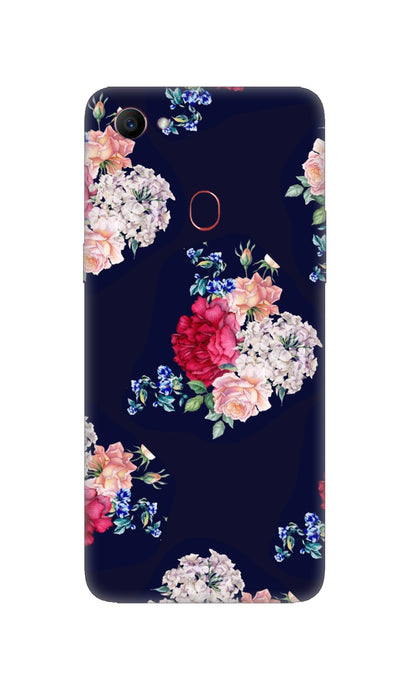 Flowers print Hard Case For Oppo F7