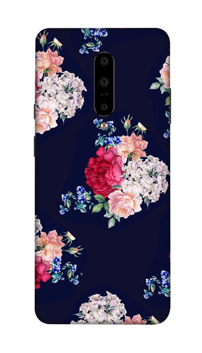 Flowers print Hard Case For OnePlus 7