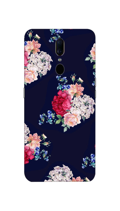 Flowers print Hard Case For Oppo F11