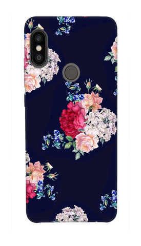 Flowers print Hard Case For Redmi Note 5 Pro