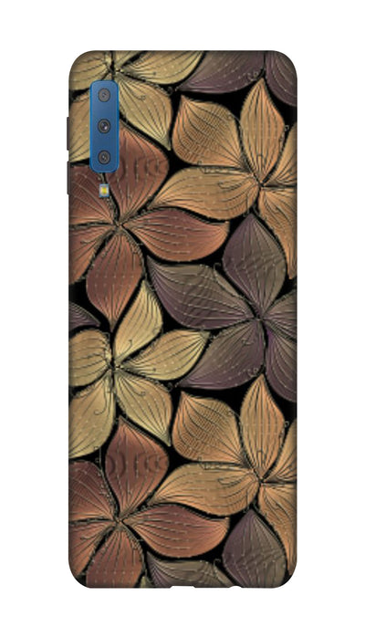 flowers Hard Case For Samsung A7