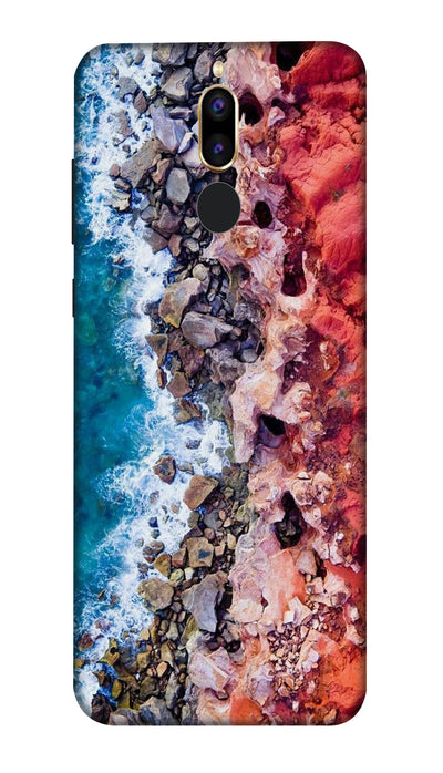 Sea side Hard Case For Honor 9i
