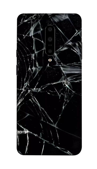 Black glass Hard Case For OnePlus 7