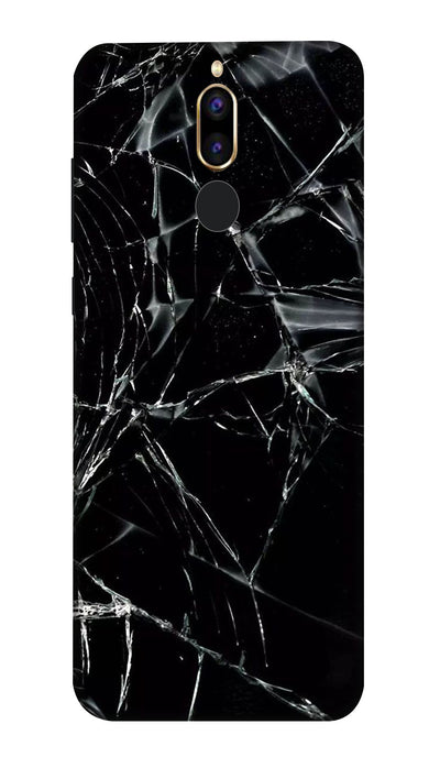 Black glass Hard Case For Honor 9i