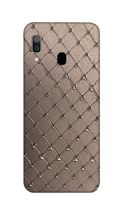 Square Pattern Hard Case For Samsung M20