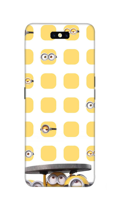 Minions Hard Case For Oppo Find X