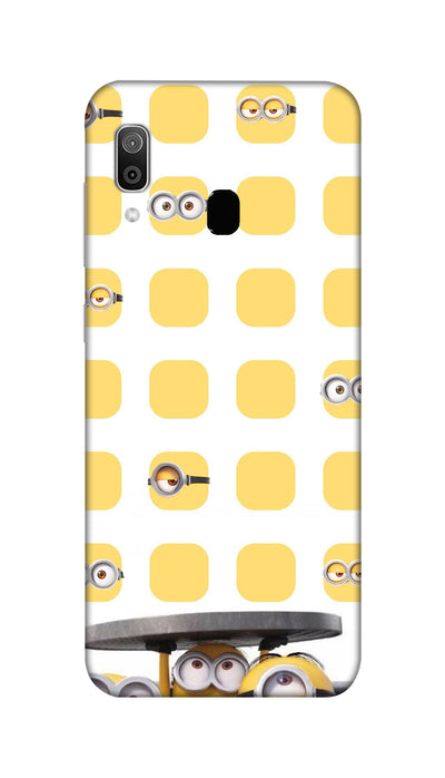 Minions Hard Case For Samsung M20