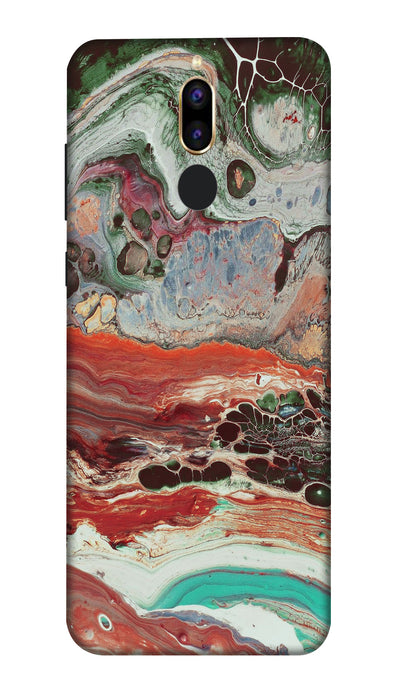 Water color painting Hard Case For Honor 9i