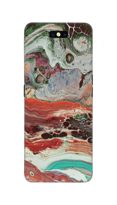 Water color painting Hard Case For Oppo Find X
