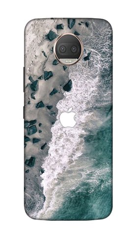 Sea beach Hard Case For Moto G5S Plus