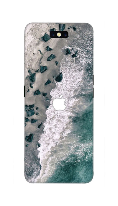 Sea beach Hard Case For Oppo Find X