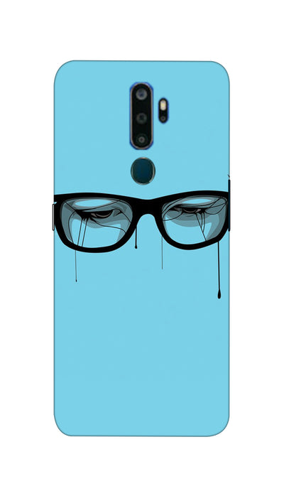 Crying eyes Hard Case For Oppo A5-2020