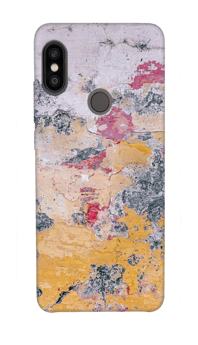 scratched wall Hard Case For Redmi Note 5 Pro
