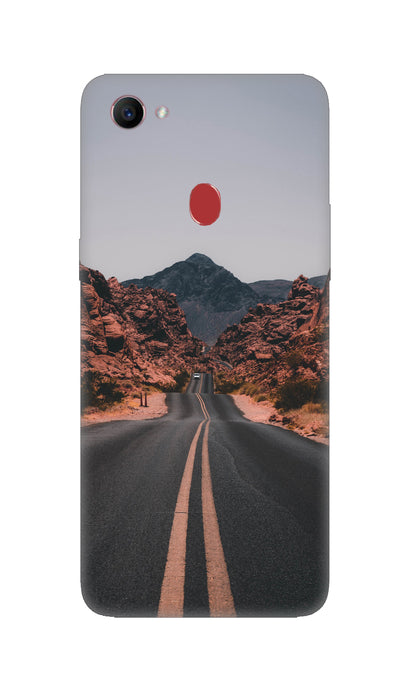 Road way Hard Case For Oppo F7