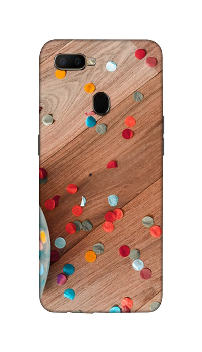 Tiny circle Hard Case For Oppo A5S