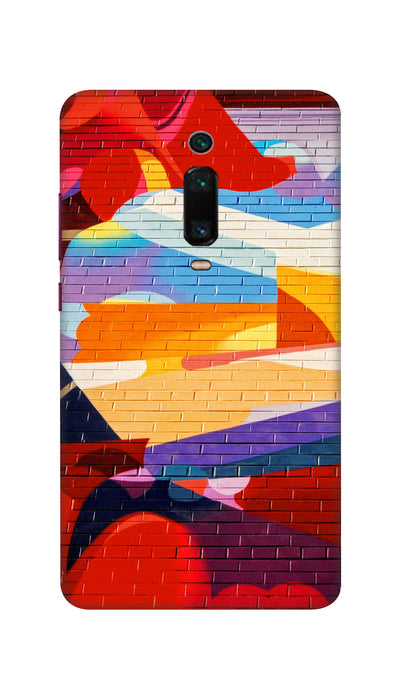 Wall design Hard Case For Mi Redmi K20
