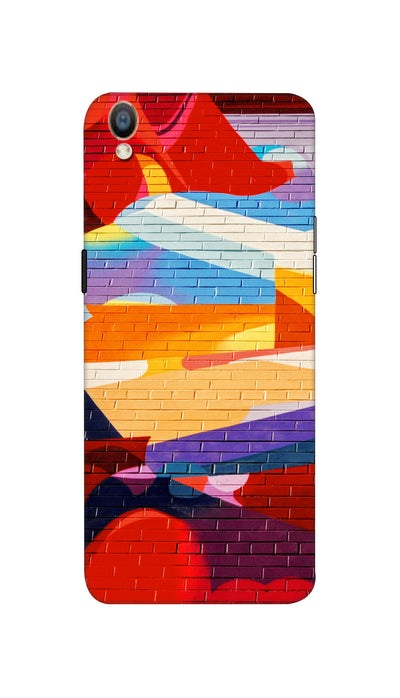 Wall design Hard Case For Oppo F1 Plus