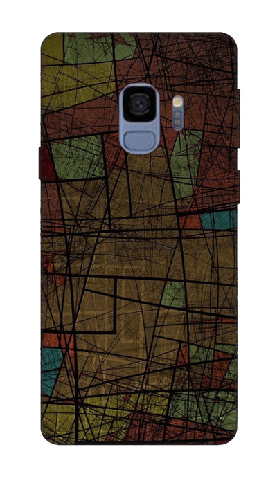 Line Design  Hard Case For Samsung S9
