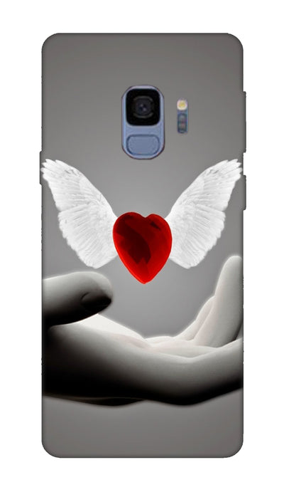 Flying heart Hard Case For Samsung S9