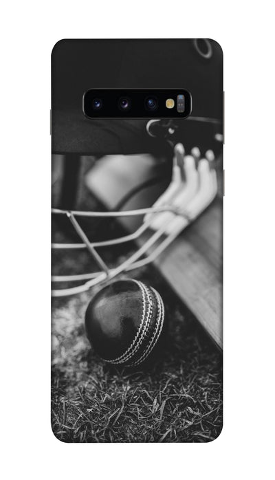 Ball & Bat Hard Case For Samsung S10