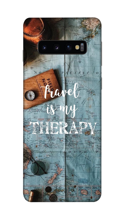 Travel therapy Hard Case For Samsung S10