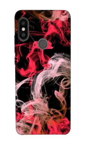 Colored smoke Hard Case For Redmi Note 5 Pro