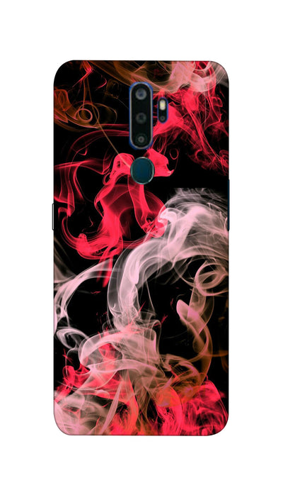 Colored smoke Hard Case For Oppo A5-2020