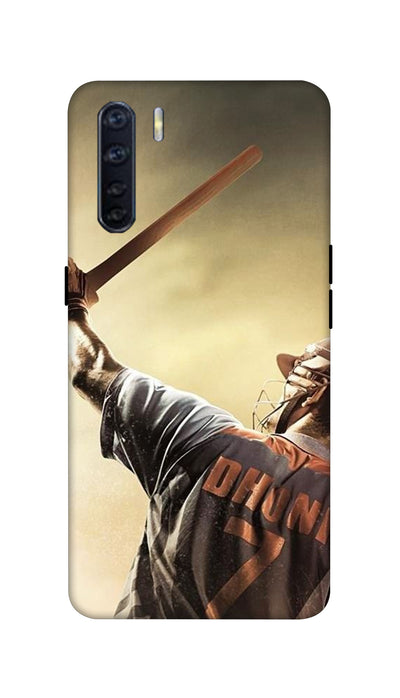 Dhoni Hard Case For Oppo F15