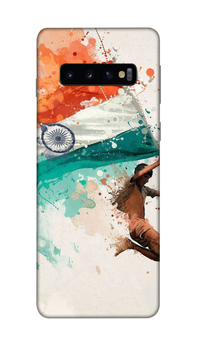 Tiranga Hard Case For Samsung S10 Plus