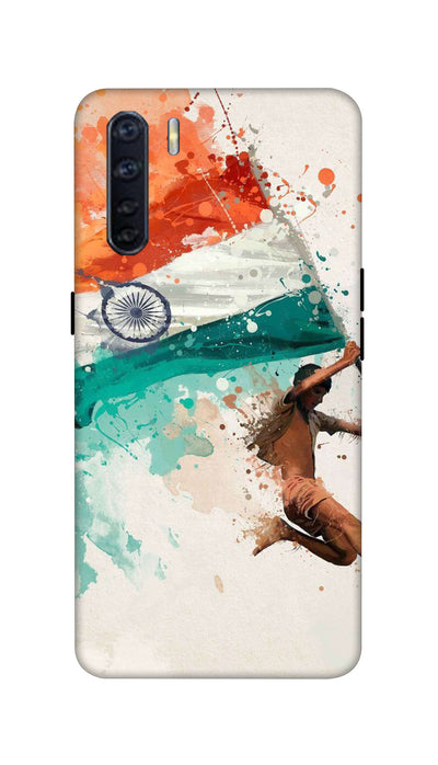Tiranga Hard Case For Oppo F15