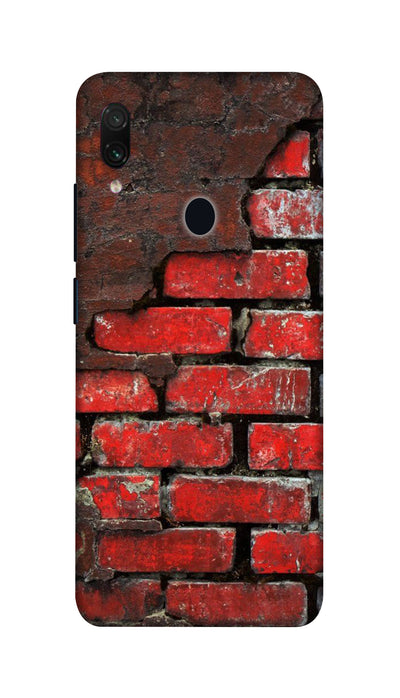 Red wall Hard Case For Redmi Note 7 Pro