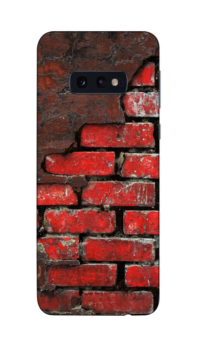 Red wall Hard Case For Samsung S10E