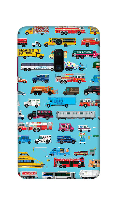 Vehicles Hard Case For Mi Redmi K20
