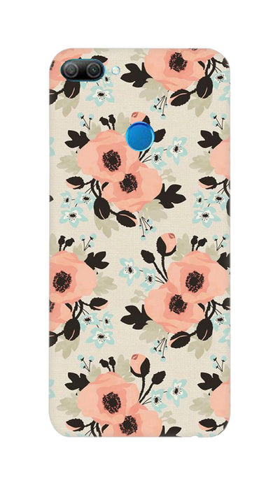 Peach flowers Hard Case For Honor 9N