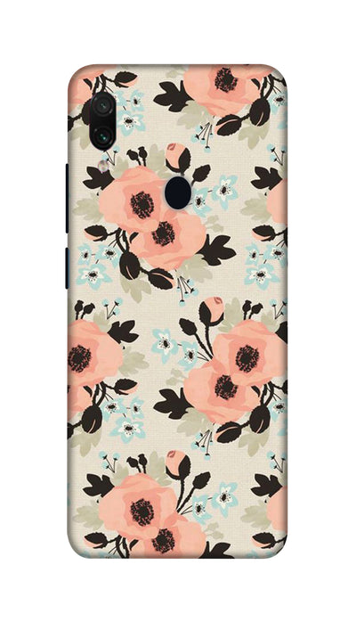 Peach flowers Hard Case For Redmi Note 7 Pro
