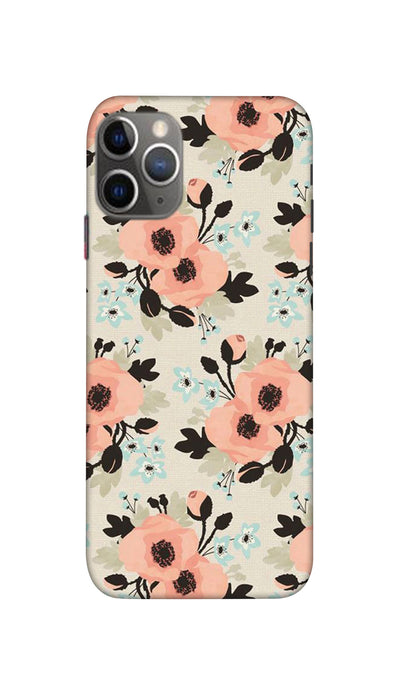 Peach flowers Hard Case For Apple iPhone 11 Pro