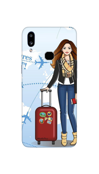 Travel time Hard Case For Samsung A10S