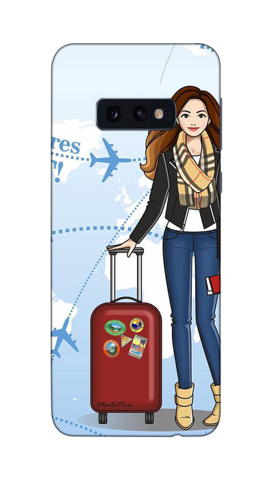 Travel time Hard Case For Samsung S10E
