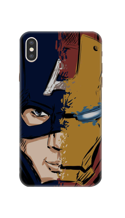 Avengers Hard Case For Apple iPhone XS