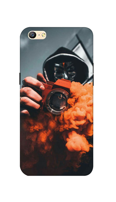 Orange smoke Hard Case For Oppo A57