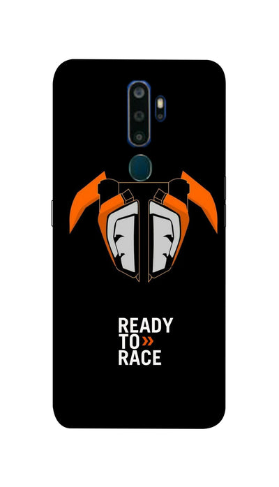 Ready to Race Hard Case For Oppo A9-2020
