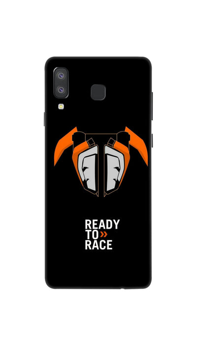Ready to Race Hard Case For Samsung A8 Star