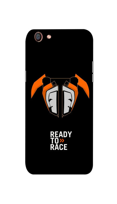 Ready to Race Hard Case For Oppo F3
