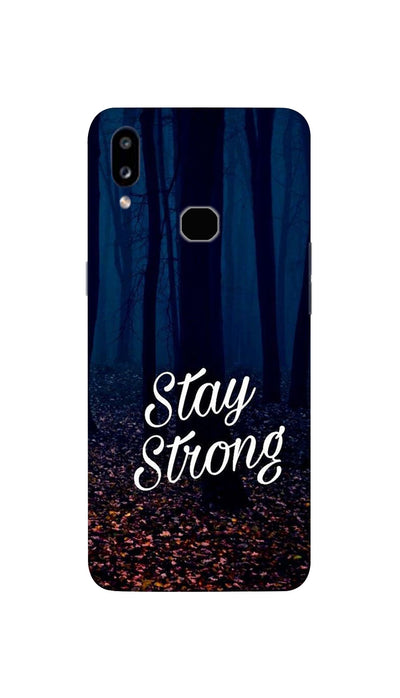 Stay Strong Hard Case For Samsung A10S