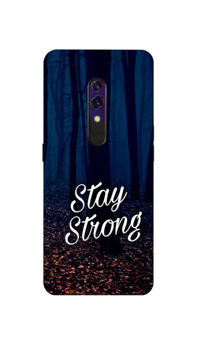 Stay Strong Hard Case For Oppo K3