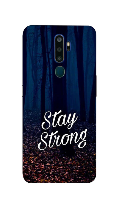 Stay Strong Hard Case For Oppo A5-2020