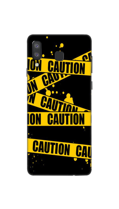 Danger caution Hard Case For Samsung A8 Star