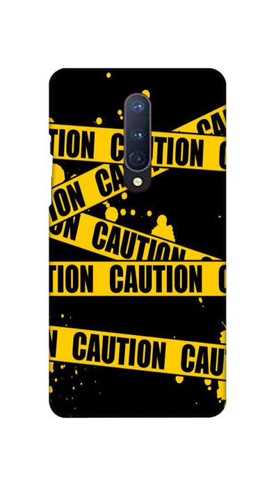 Danger caution Hard Case For OnePlus 8